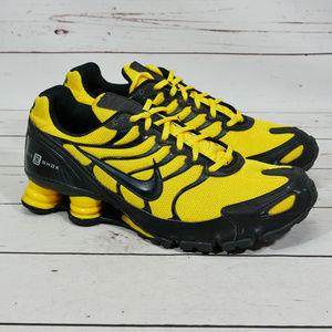 Turbina Intención preferible  Nike Shoes | Shox Turbovi Id Running Yellow Black | Poshmark